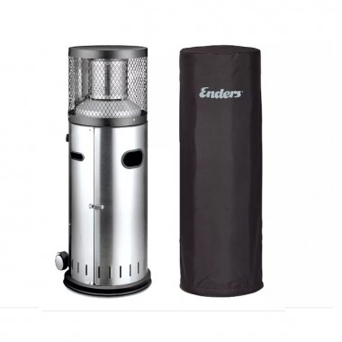Газовый уличный обогреватель для террасы Enders Polo 2.0 c защитным чехлом в комплекте