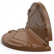 Крышка складная Роса для дачных колодцев (коричневая)