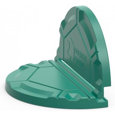 Крышка складная Роса для дачных колодцев (зеленая)