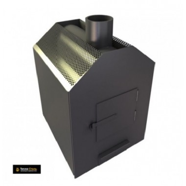 Печь буржуйка отопительная ТАШКЕНТ-70 (ТеплоСталь) 150 м3